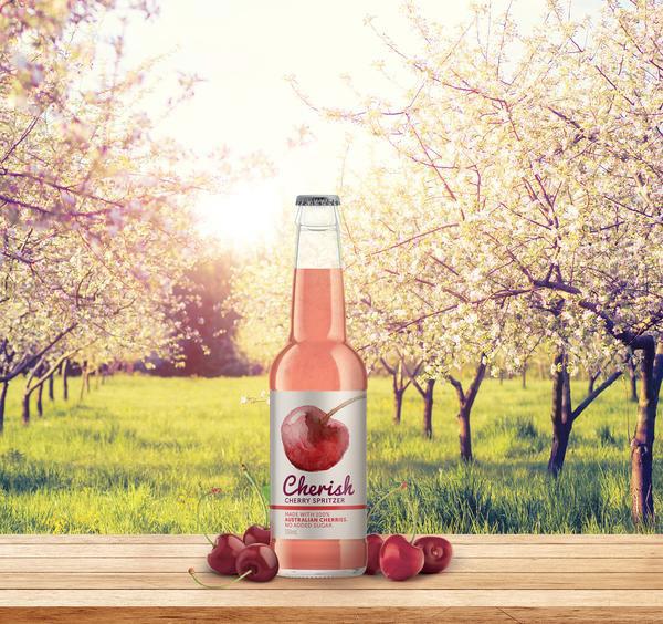 Cherish Cherry Spritzer 330ml JUICE