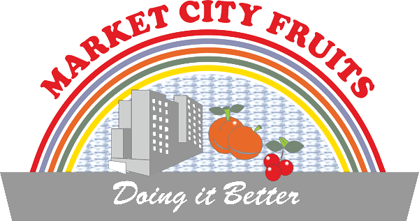 Market City Fruits Logo