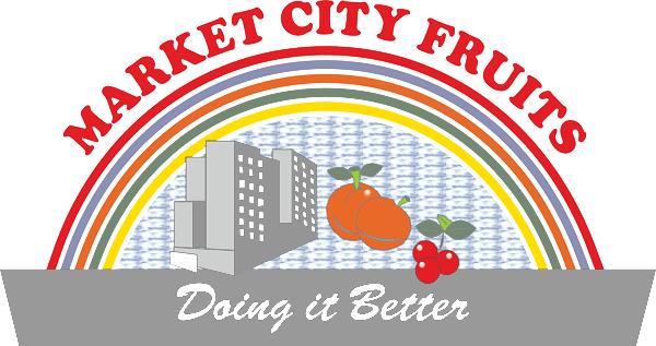 Market City Fruits Logo